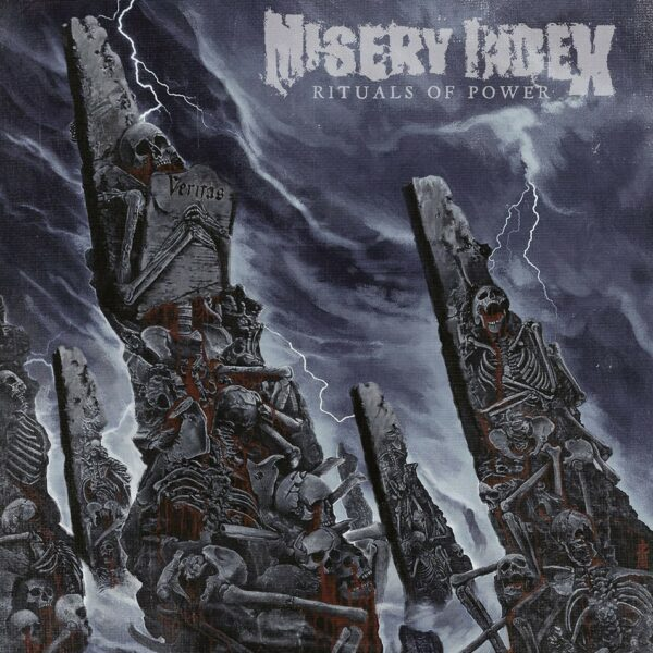 Misery Index - Rituals Of Power, Gatefold, Limited Silver Vinyl, 300 Copies