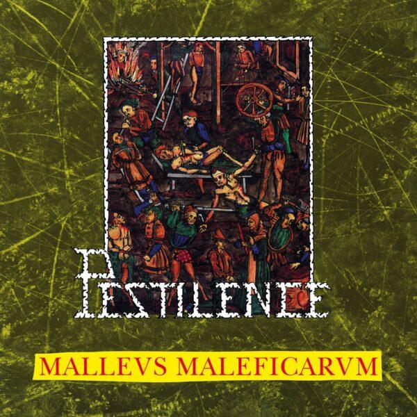 Pestilence - Mallews Maleficicarvm, Limited Clear/Swamp Green Marbled Vinyl, 300 Copies