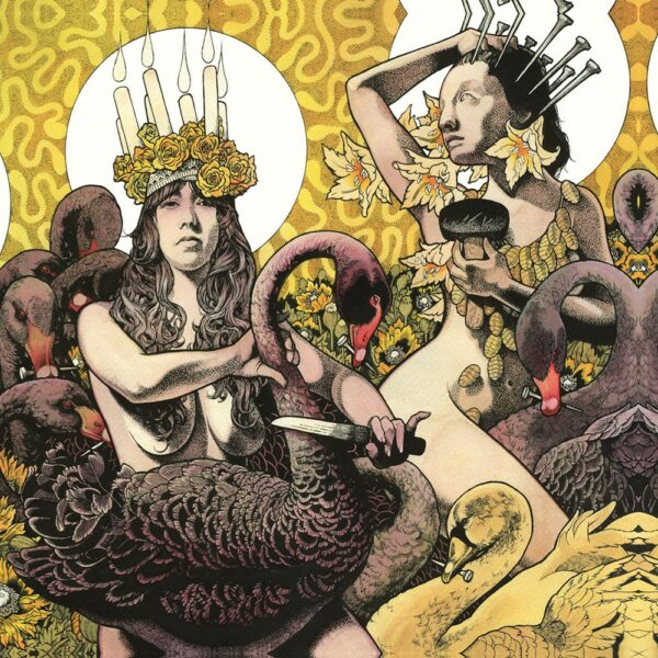 Baroness - Yellow & Green, 2LP, Gatefold, Limited Yellow/Green Half and Half with splatter, 1000 copies