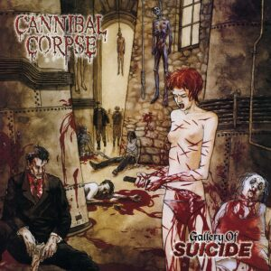 Cannibal Corpse - Gallery Of Suicide, 180gr, LP