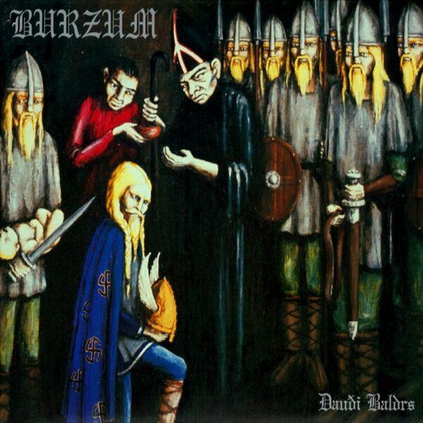 Burzum - Daudi Baldrs, Gatefold, LP