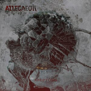 Allegeaon - Apoptosis, 2LP, Gatefold, Ltd. Clear/Black Smoke, 200 Copies, Numbered
