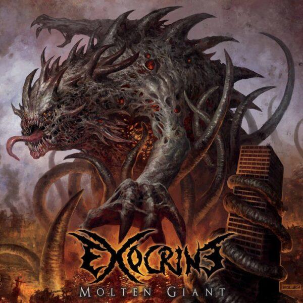 Exocrine - Molten Giant, Red Vinyl