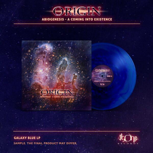 Origin - Abiogenesis, Ltd Blue Vinyl, 250 Copies