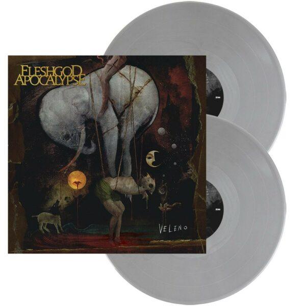 Fleshgod Apocalypse - Veleno, 2LP, Gatefold, Ltd Grey Vinyl, 300 Copies