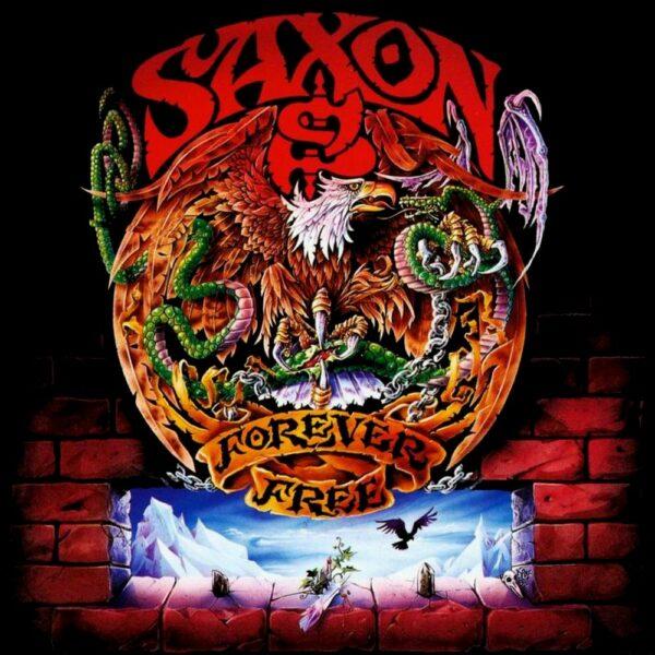 Saxon - Forever Free, Ltd Red Vinyl, 180gr