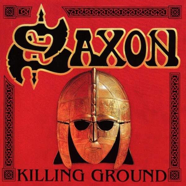 Saxon - Killing Ground, Ltd Red Vinyl, 180gr