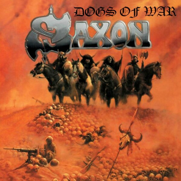 Saxon - Dogs Of War, Ltd Orange Vinyl, 180gr