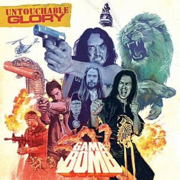 Gama Bomb - Untouchable Glory, Gatefold, Limited Red Vinyl
