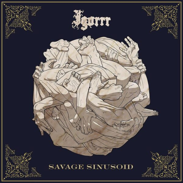 Igorrr - Savage Sinusoid, Ltd. Gray Green Marbled Vinyl, 500 Copies