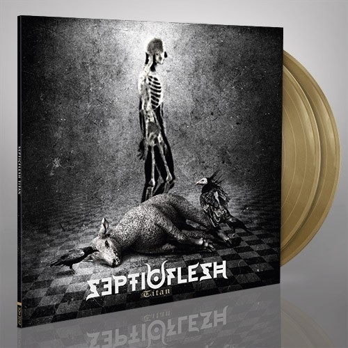Septicflesh - Titan, 2LP, Gatefold, Limited Gold Vinyl, 100 copies!