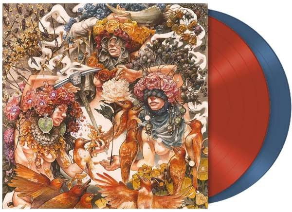 Baroness - Gold & Grey, 2LP, Gatefold, Limited Transparent Red & Blue Vinyl, Indie Retail Edition