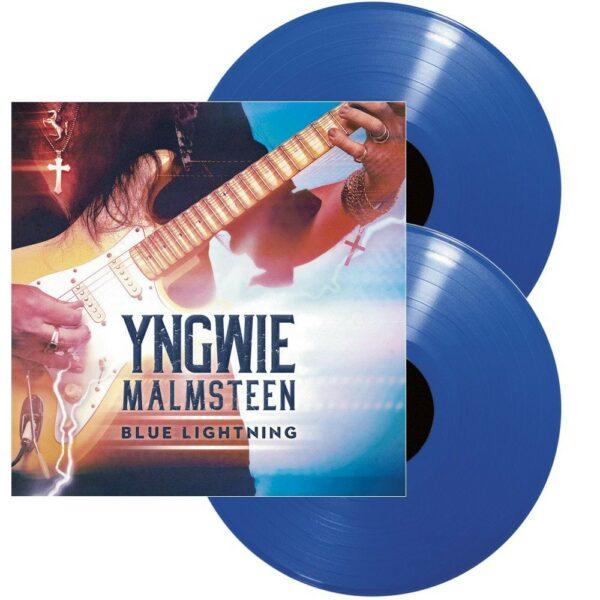 Yngwie Malmsteen - Blue Lightning, 2LP, Gatefold, Ltd. Blue Vinyl, 180gr