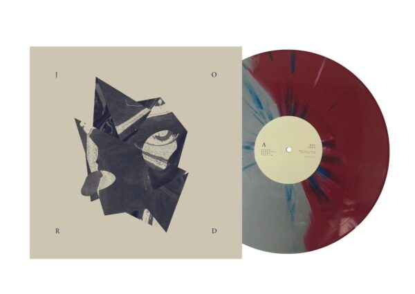 Møl - Jord, Ltd Silver/Red, Half Half with Blue splatter LP