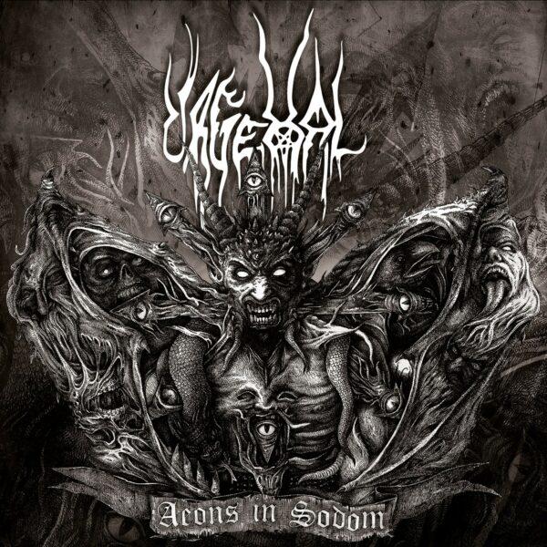 Urgehal - Aeons In Sodom, 2LP, Gatefold, Limited Brown/Gold Swirl, 200 Copies