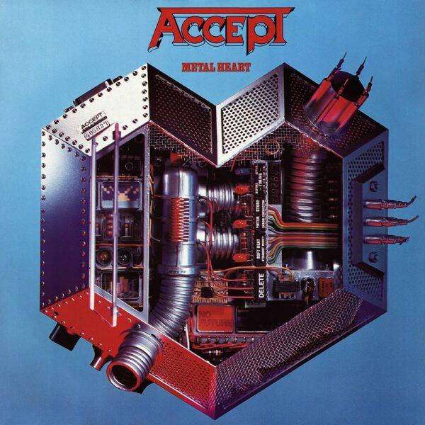 Accept - Metal Heart, Ltd Red Vinyl, 180gr, 2000 Copies