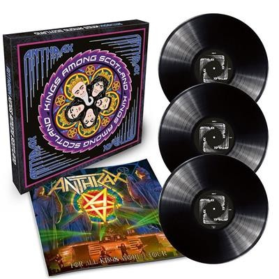 Anthrax - Kings Among Scotland, 3LP, Box