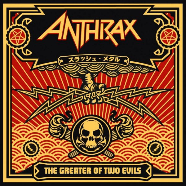 Anthrax - The Greater Of Two Evils, 2LP, Gatefold