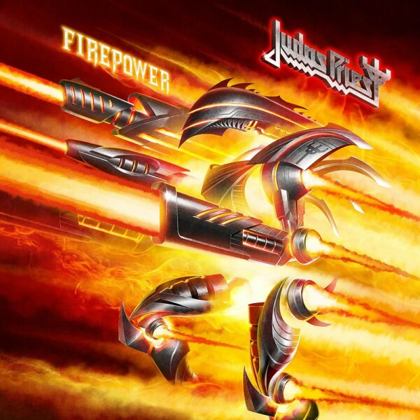 Judas Priest - Firepower, 2LP, Gatefold, Limited Red Vinyl