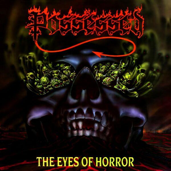 Possessed - The Eyes Of Horror, White/Black Splatter Vinyl