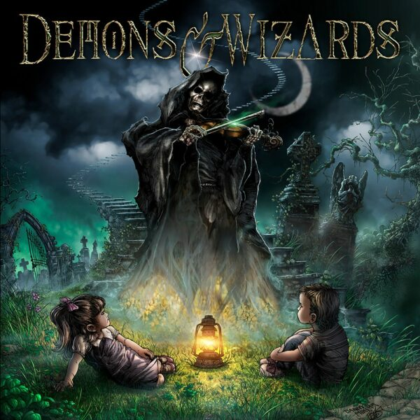 Demons & Wizards - Demons & Wizards, 2LP, Gatefold
