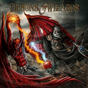 Demon & Wizards - Touched By The Crimson King, 2LP, Gatefold