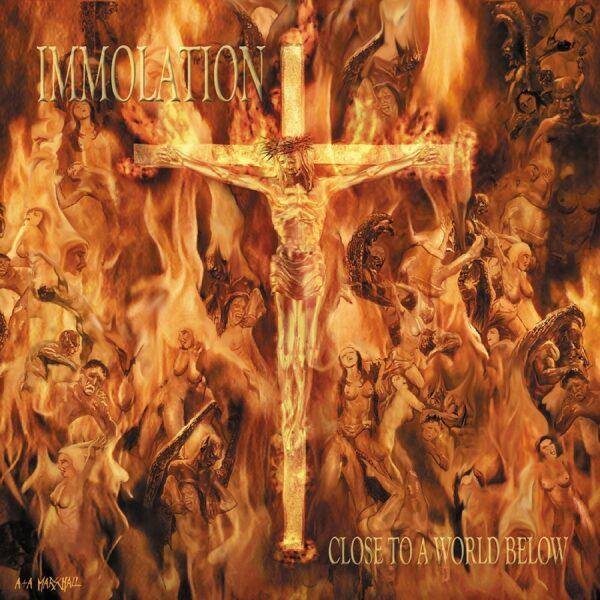 Immolation - Close To A World Below, LP