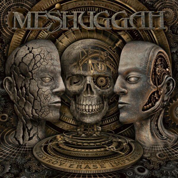Meshuggah - Destroy Erase Improve, 2LP, Gatefold, Limited Clear Vinyl, 300 Copies