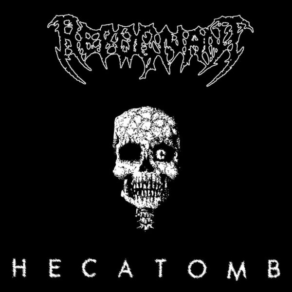 Repugnant - Hecatomb, Limited Clear with Black Splatter, LP