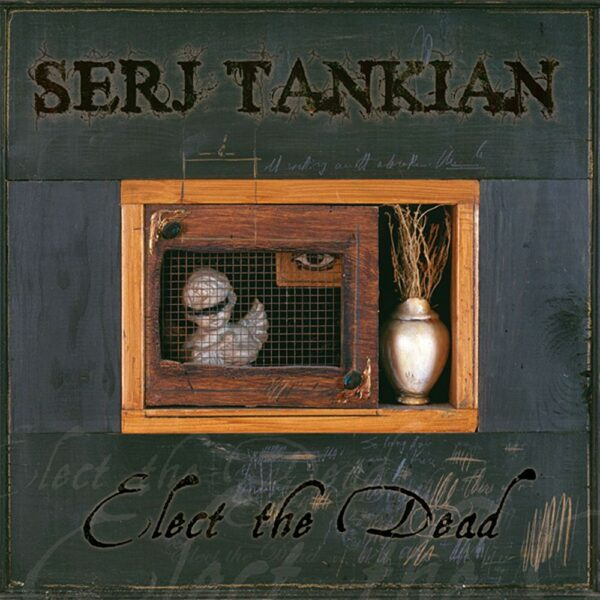 Serj Tankian - Elect The Dead, 2LP, Gatefold, Limited Gold Marbled Vinyl, 1500 Copies