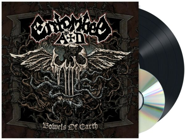 Entombed - Bowels Of The Earth, Gatefold, 180gr, CD, Poster, LP