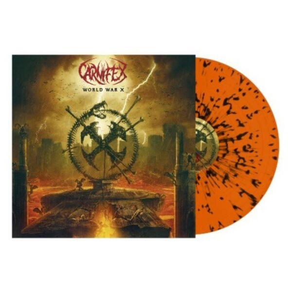 Carnifex - World War X, Limited Orange with black splatter, 500 copies