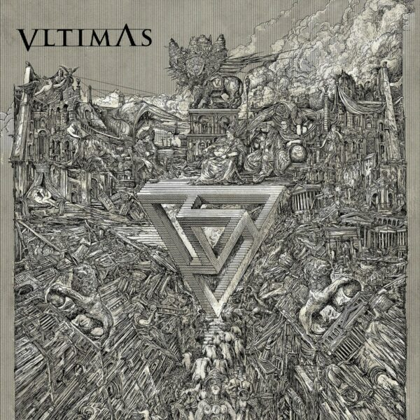 Vltimas - Something Wicked Marches In, Gatefold, Limited Red Vinyl, 400 Copies