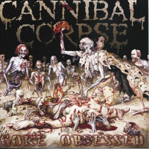 Cannibal Corpse - Gore Obsessed, 180gr, LP