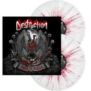 Destruction - Born To Perish, 2LP, Gatefold, Limited White with Red Splatter, 500 Copies