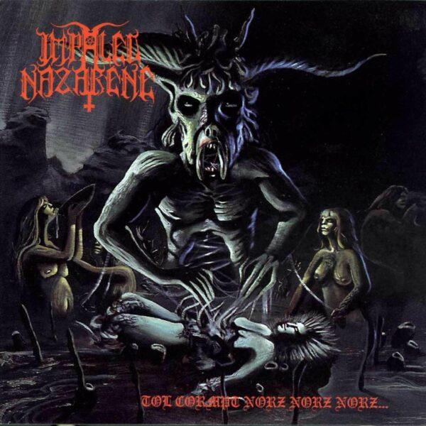 Impaled Nazarene - Tol Cormpt Norz Norz Norz, Gatefold, Limited Blue Galaxy Coloured Vinyl, 500 Copies 1