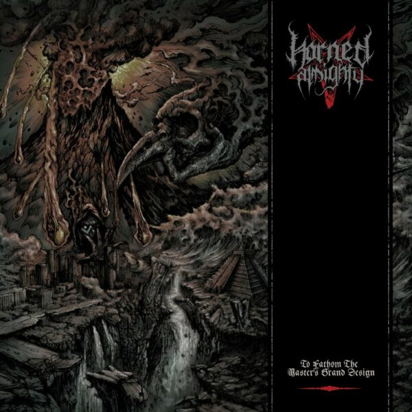 Horned Almighty - To Fathom the Master's Grand Design, 4 page booklet, Limited 300 Copies 1