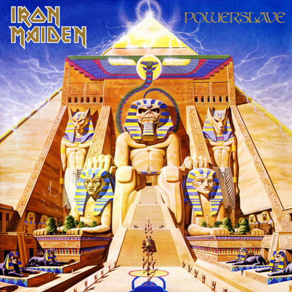 Iron Maiden - Powerslave, LP 1