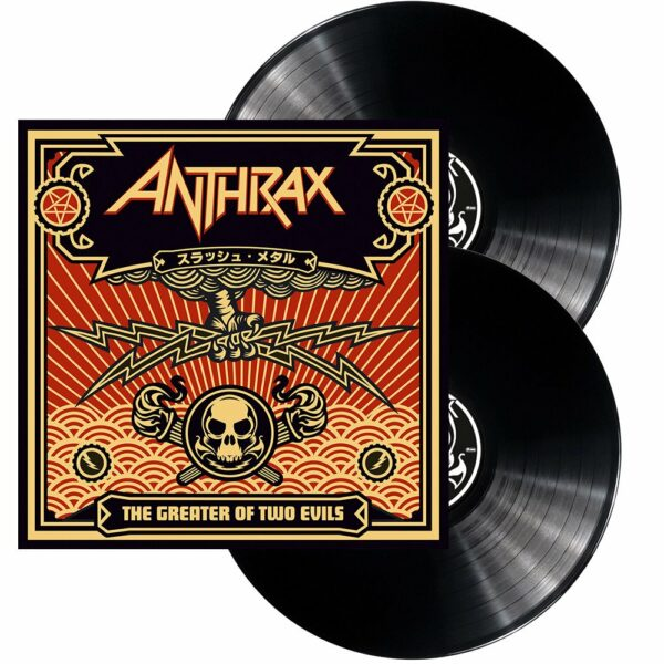 Anthrax - The Greater Of Two Evils, 2LP, Gatefold 1