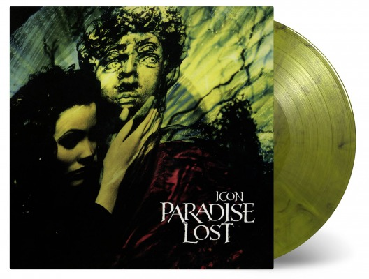 Paradise Lost - Icon, 2LP, Gatefold, Ltd Yellow and Black Marbled Vinyl, 2500 Copies 1