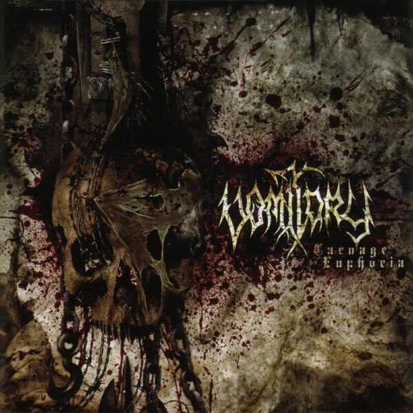 Vomitory - Carnage Euphoria, Limited Sand Beige Marbled Vinyl, Numbered, 200 Copies 1