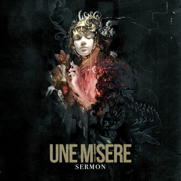 Une Misere - Sermon, Gatefold, Limited Black And Bone Swirl Vinyl, 550 Copies 1