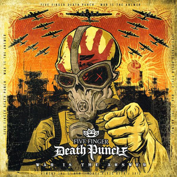 Five Finger Death Punch - War Is The Answer, Gatefold, LP 1