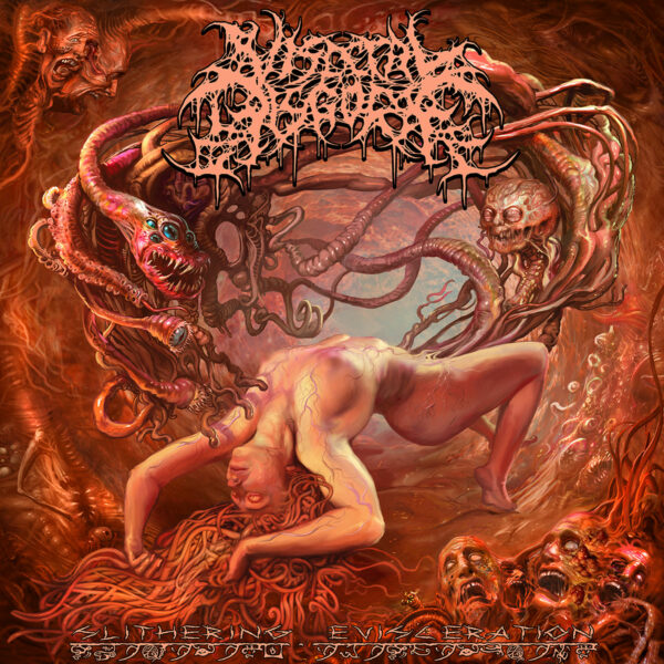 Visceral Discourge - Slithering Evisceration, Limited Orange Vinyl 1