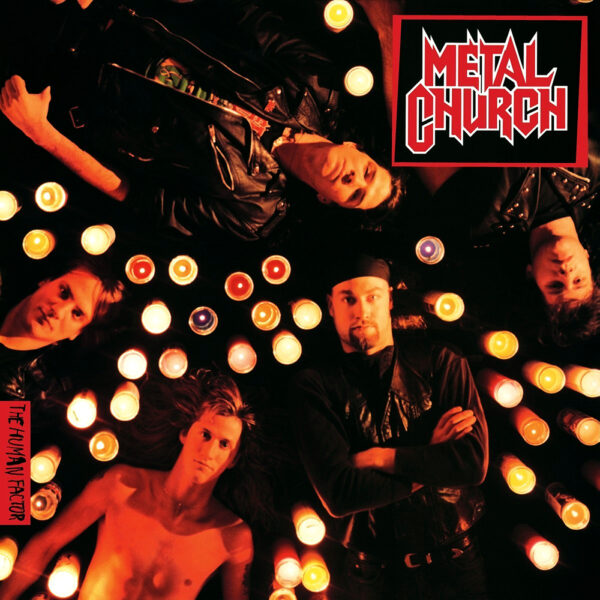 Metal Church - The Human Factor, Limited Transluctent Red Vinyl, 1000 Copies, Numbered 1