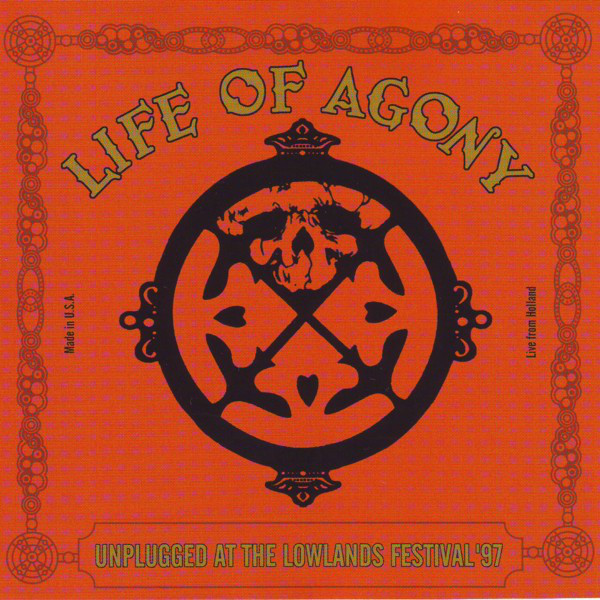 Life Of Agony - Unplugged At The Lowlands Festival 97, 2LP, Gatefold, Limited Transparent Vinyl, 500 Copies 1