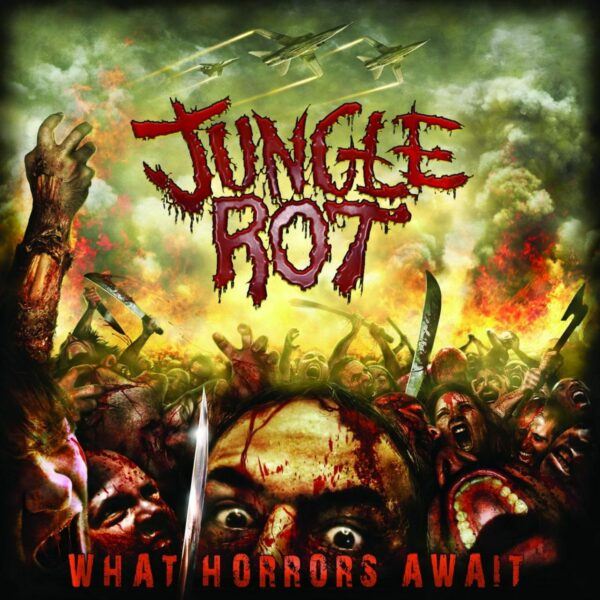 Jungle Rot - What Horrors Await, Limited Yellow Opaque Vinyl, Record Store Day 2018 Exclusive 1