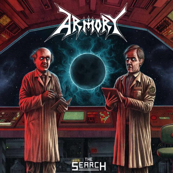 Armory - The Search, Transluctent Electric blue vinyl 1
