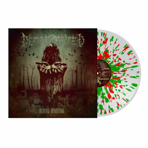 Decapitated - Blood Mantra, Gatefold, Clear/Red/Green Splatter Vinyl 1