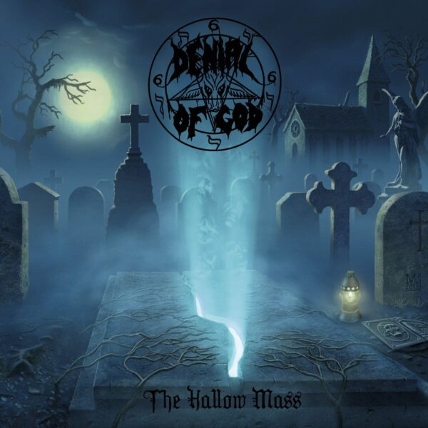 Denial Of God - The Hallow Mass, 2LP, Gatefold, Limited Blue/Silver Swirl, 300 Copies 1